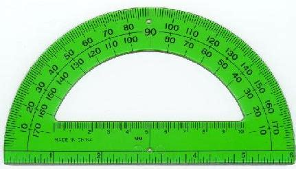 printable protractor 2 per page required course materials tscs geometry