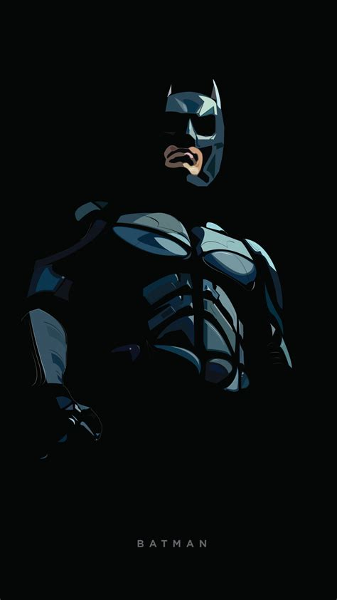 wallpaper batman minimal dark background dc comics