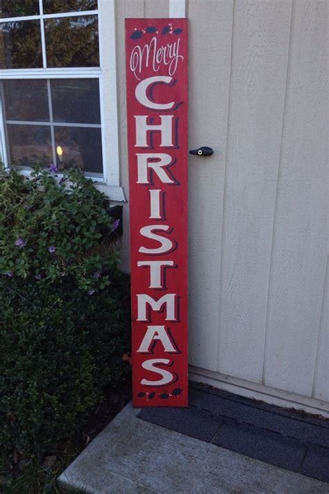 vertical christmas signs festival collections