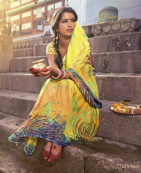 beauty india digital the waters of ganga designer digital printed sarees