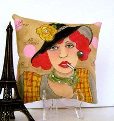 doodle edith piaf pin by marty on pillows to paint