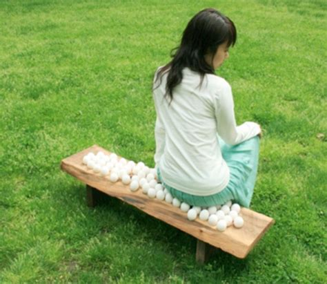 sit on a bench egg bench by grace chen chairblog eu
