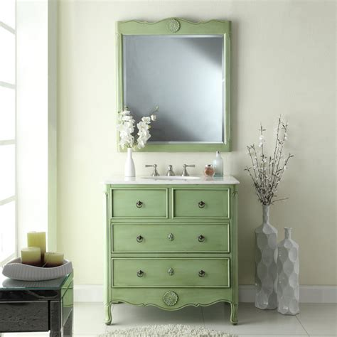 34 inch bathroom vanity adelina 34 inch vintage bathroom vanity vintage mint green