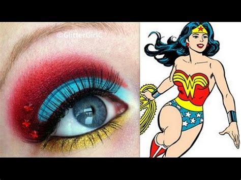 wondering how to make up wonder woman inspired makeup tutorial youtube