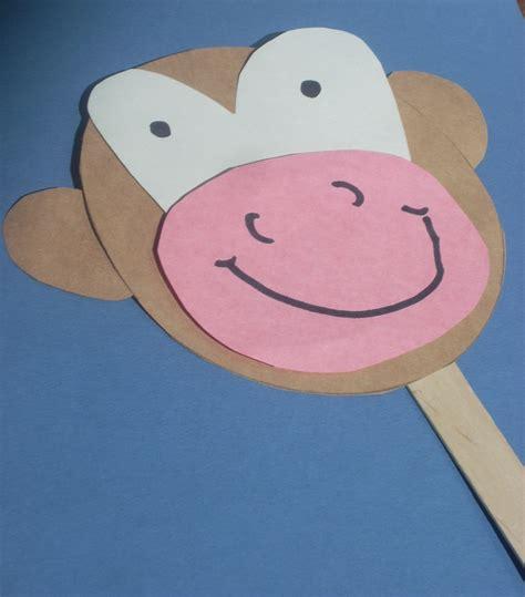 monkey crafts for preschool monkey craft