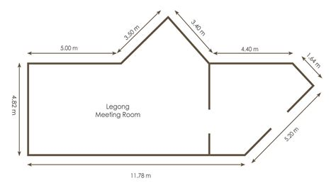 layout tempat duduk rapat fasilitas rapat dan konfrensi di bali