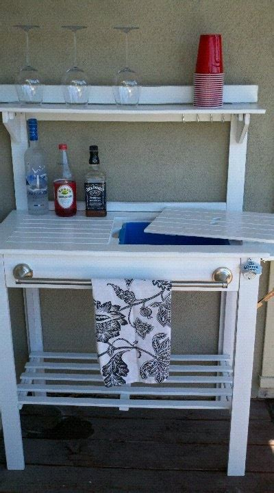 potting bench world market best 25 potting bench bar ideas on pinterest patio bar