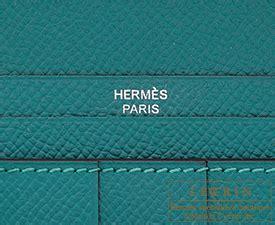 H Bearn Malachite hermes bearn soufflet malachite epsom leather silver hardware hermes birkin l ecrin boutique