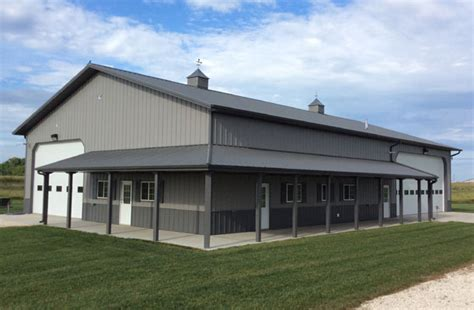 Fantastic Metal Building Storage Home w/ Living Quarters