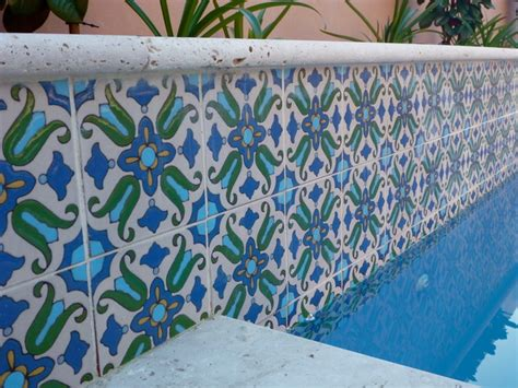decorative pool tiles pool waterline tile perth mediterranean pool perth