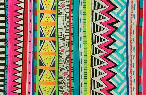 tribal pattern fashion vivid ayota aztec tribal native geometric pattern