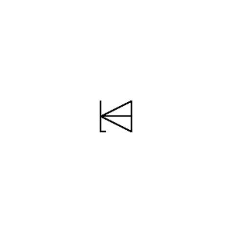 baritt diode schematic symbol zener diode