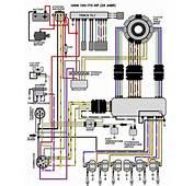 1990 Evinrude 150 HP V6 Ignition Wiring