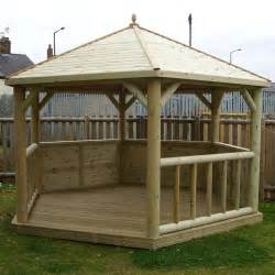 Wooden Gazebo Kits by 11 11 Quot X 10 5 Quot Ft 3 6 X 3 2m Timber Cladded Wooden