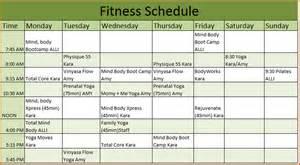 5 workout calendar template   Divorce Document