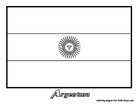 flag of venezuela coloring pages