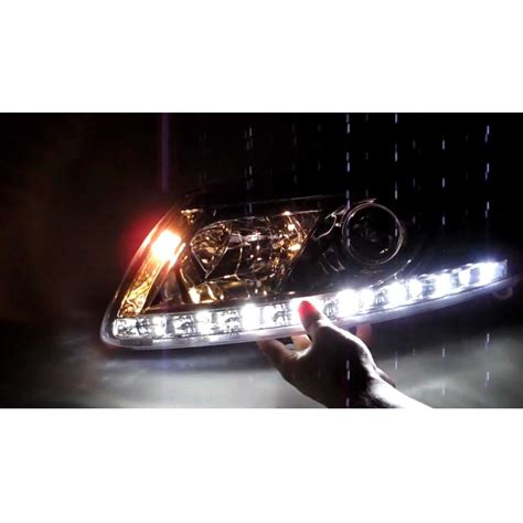 led außenleuchte 2005 2007 audi a6 drl r8 led projector headlights