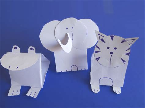 How To Make Animals Out Of Paper - how to make paper animals