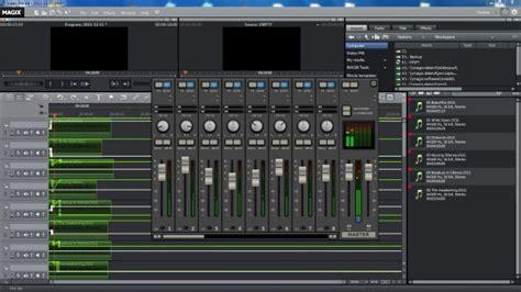 Sound Desk Software magix pro x review part two