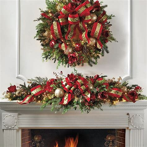 garland ideas frontgate christmas garland christmas ideas pinterest