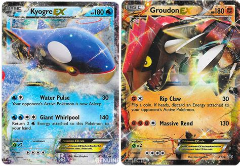 kyogre cards templates groudon kyogre legendary duo ex ultra holo