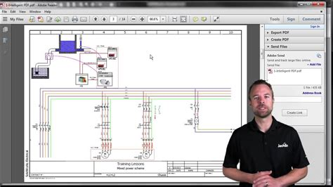 tutorial solidworks electrical pdf solidworks electrical intelligent pdf youtube