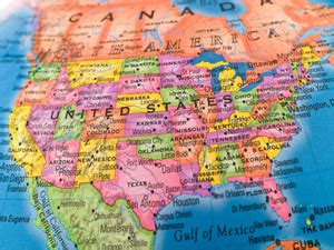 map of the united states close up viaggi di nozze in america del nord un sogno incredibile