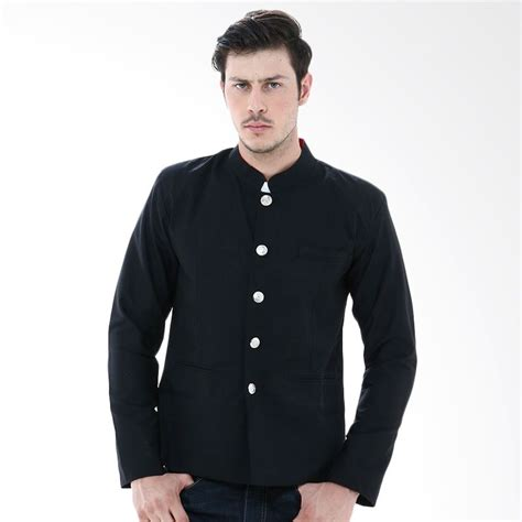 Crows Denim Pria Gakuran Dino Jual Crows Gakuran Genji Black Denim Blazer Harga
