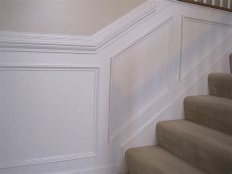 Chair Rail Up Stairs by Designed To Dwell Tips For Installing Chair Rail