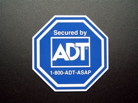 secured by adt sticker pictures to pin on