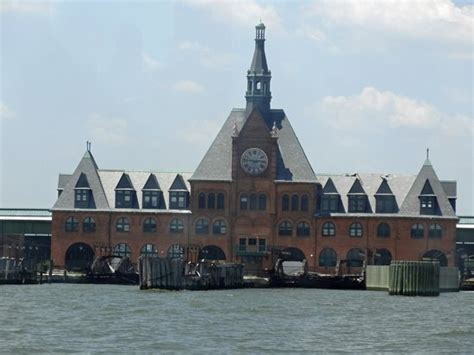 boat tour ellis island ellis island from harbor cruise boat picture of new york