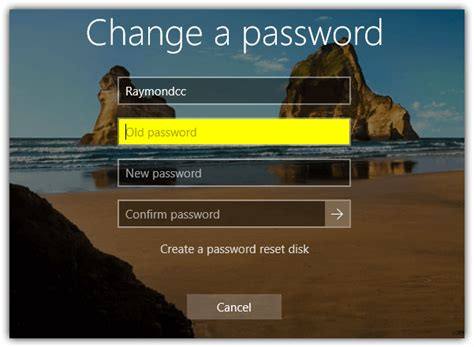 reset windows password before logon 5 ways to change windows user password without knowing