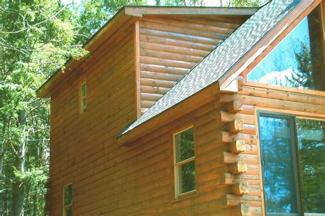 Log Cabin Wood Stain by Ny Log Cabin And House Staining Portfolio Kellogg S Painting