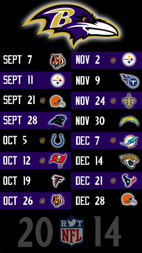 printable ravens schedule 2015 schedule nfl 2014 season printable html autos post