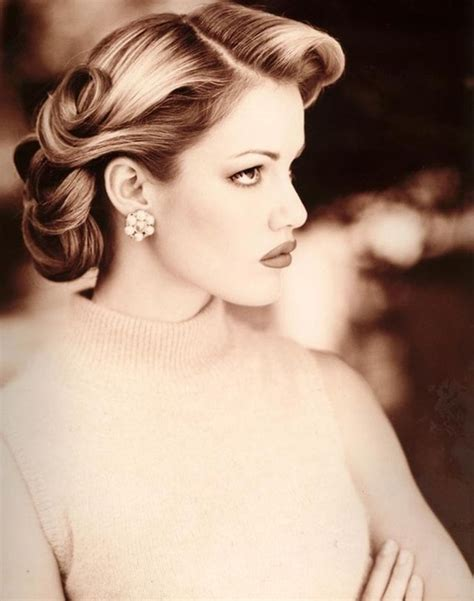 Vintage Hairstyles by 25 Best Ideas About Vintage Hairstyles On
