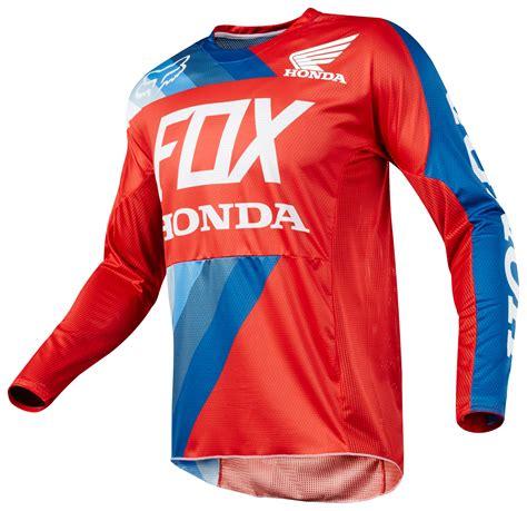 fox honda motocross gear fox racing 360 honda jersey revzilla
