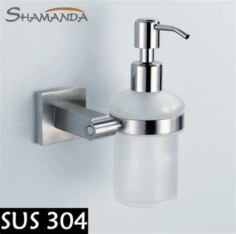 High Quality Bathroom Accessories Free Shipping High Quality Bathroom Accessories Products Solid 304 Stainless Steel Soap