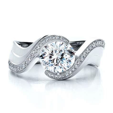 custom engagement ring engagement rings joseph