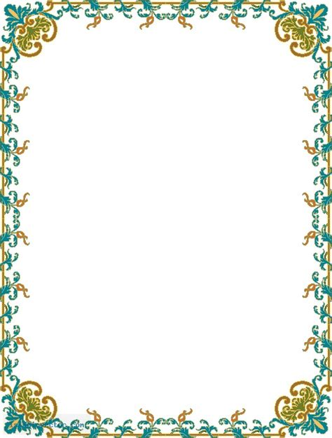 design frame qur an islamic border designs joy studio design gallery best