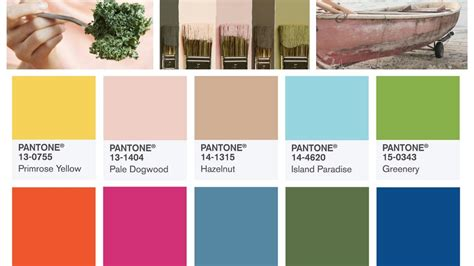 trending colors spring 2017 summer 2017 color trends top 10 pantone colors youtube