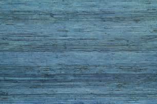 1950 s vintage wallpaper blue grasscloth mid century