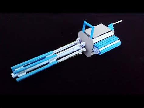 How To Make A Gun Out Of Paper - how to make a paper m134 minigun paper gatling gun