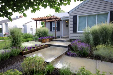 modern front yard landscaping newapproach modern landscape salt lake city by