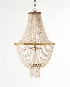 Beaded Chandelier Lighting Kismet Four Light Beaded Chandelier Contemporary