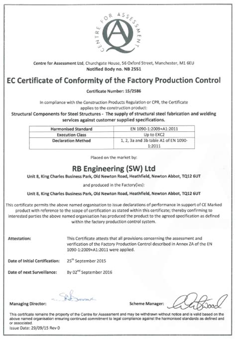 News Rb Engineering Fabrication And Welding Devon Rb Engineering Fabrication And Welding Devon Ce Label Template