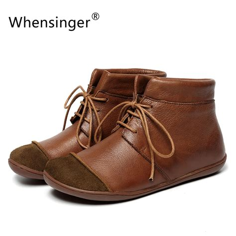 Whensinger 2017 Leather Shoes Handmade - whensinger 2017 new shoes genuine leather vintage