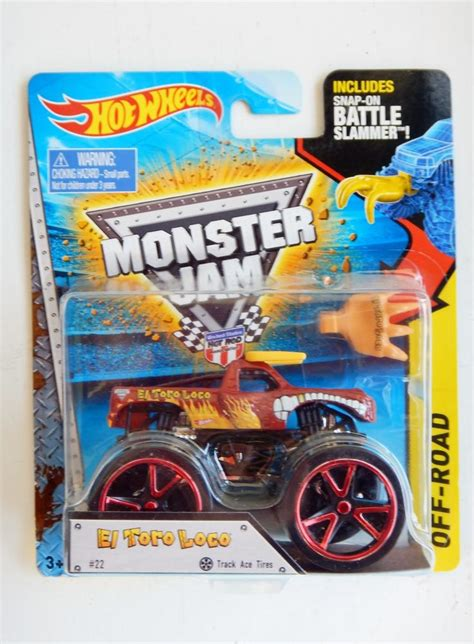 monster jam diecast el toro loco monster jam diecast truck wheels 2015