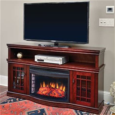 electric fireplace entertainment center lowes muskoka dwyer electric fireplace entertainment center in cherry mtvsc2513sch for sale