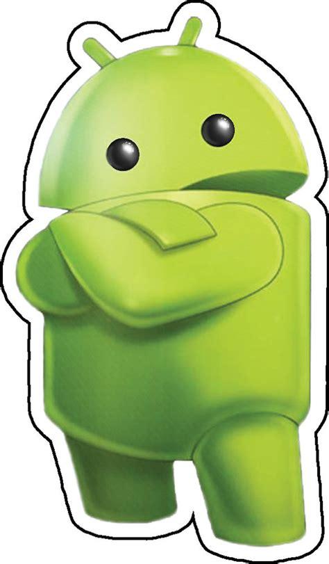 Sticker Cutting Scotlite Logo Android Robot android logo green robot crossed arms vinyl sticker laptop phone window ebay