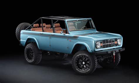 2019 Ford Bronco 4 Door by Maxlider 1966 4 Door Ford Bronco Four Horseman Custom